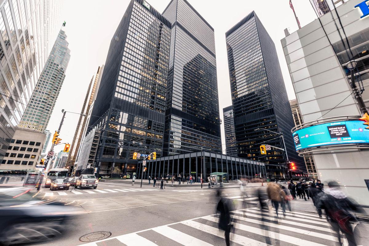 Al x Financial District, Toronto, Canada