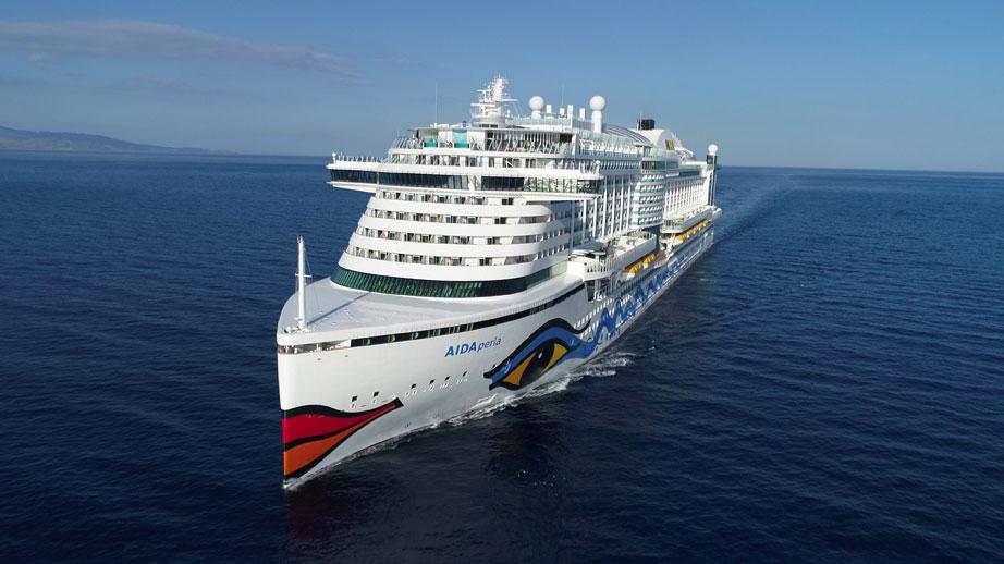 AIDAperla – an Bord des neuen Flagschiffes