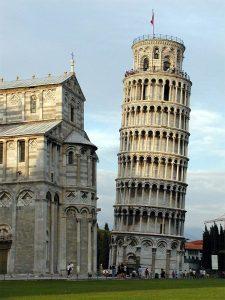 Der schiefe Turm von Pisa, Fotograf: Softeis, CC BY-SA 3.0